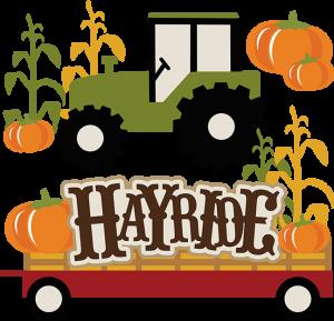 Hayride SVG autumn svg files for scrapbooking hayride svg files for scrapbooking cornstalk svg tractor svg