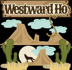 Westward Ho SVG Scrapbook Collection western svg files for scrapbooks coyote svg file