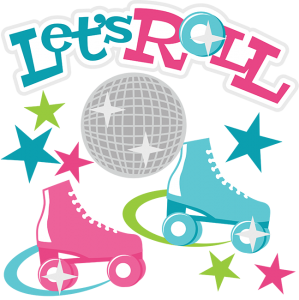Let's Roll SVG Scrapbook Collection roller skating svg file roller skating cut file for scrapbooking