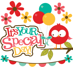 It's Your Special Day SVG scrapbook collection bird svg file balloons svg files for scrapbookings