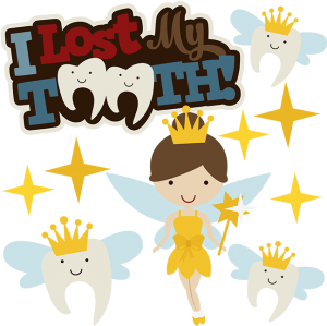 I Lost My Tooth SVG Scrapbook Collection tooth fairy svg file for scrapbooking tooth fairy cut file