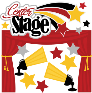 Center Stage SVG scrapbook collection performance svg files recital cut files for scrapbooking