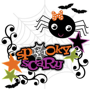 Spoky Scary SVG Scrapbook Collection halloween svg files for scrapbooking spider web svg file