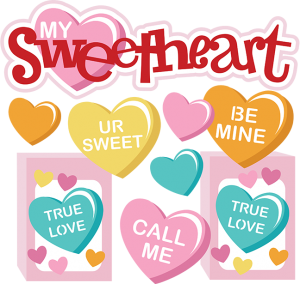 My Sweetheart SVG Scrapbook Collection svg files for scrapbooking and cardmaking