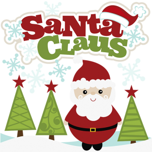 Santa Claus SVG Scrapbook Collection santa svg file for scrapbooking santa cut files christmas svg files