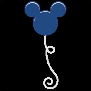 Mouse Balloon SVG scrapbook file cute cut files for scrapbooking cute svg cuts for scrapbooks