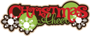 Christmas Cheer SVG file for scrapbooking cute christmas svg cuts for scrapbooks