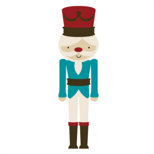 Nutcracker SVG file for scrapbooking cardmaking cute svg cuts for scrapbooks christmas svg files