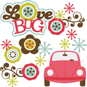 Love Bug SVG scrapbook cuts cute svg cuts for scrapbooking cute svg files for scrapbooking cardmaking