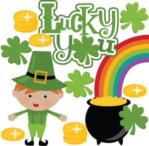 Lucky You SVG Scrapbook Collection st. patricks day svg files for scrapbooking cute svg cuts