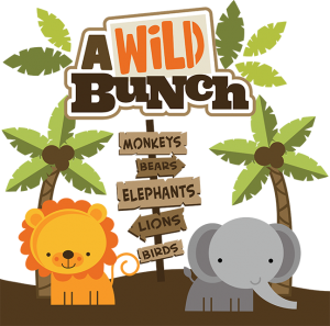 A Wild Bunch SVG Scrapbook Collection zoo svg cut files zoo svg files for scrapbooking