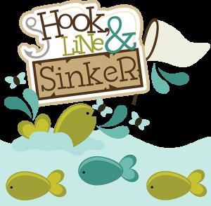 Hook, Line & Sinker SVG scrapbook collection fishing svg files fishing svg cut files for scrapbooks