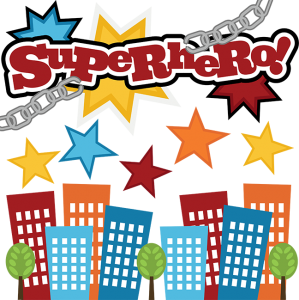 Superhero! SVG files for scrapbooking cute svg cut files cute cutting files for scrapbooking