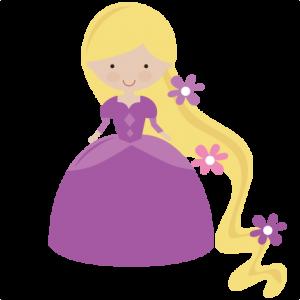 Fairytale Princess SVG file scrapbook princess svg files princess svg cuts princess cut files for scrapbooking