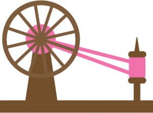Spinning Wheel SVG file for scrapbooking cute svg files cute svg cuts cute cut files for scrapbooks