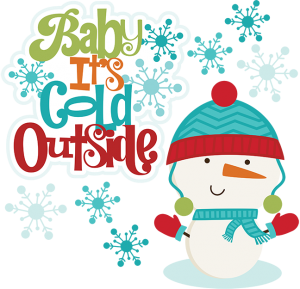Baby It's Cold Outside SVG scrapbook winter svg files snowman svg files cute svg cuts cutting files