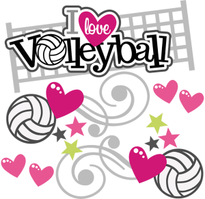 I Love Volleyball SVG scrapbook file volleyball svg files volleyball svg cut files cutting files for scrapbooking