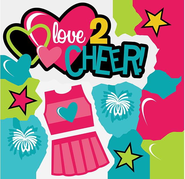 cheerleader clipart svg - photo #29