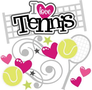 I Love Tennis SVG scrapbook collection tennis svg files tennis svg cuts tennis cut files for scrapbooking