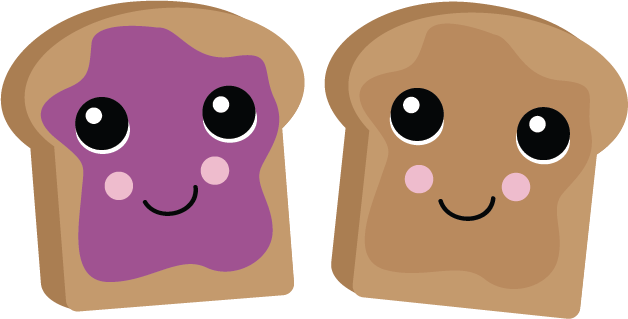 PB & J Bread SVG scrapbook file free svg files free svg ...