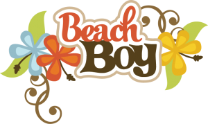 Beach Boy SVG scrapbook title beach svg files beach svg cuts beach boy cut files for scrapooking