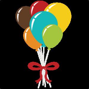 Balloon Bouquet SVG scrapbook file free svg file free svgs free svg cuts free balloon svg file