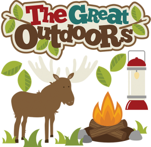 The Great Outdoors SVG files for scrapbooking moose svg file camping lantern svg file fire svg free svgs