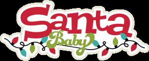 Santa Baby SVG scrapbook title santa svg title christmas svgs christmas svg cuts free svgs
