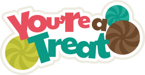 You're A Treat SVG scrapbook title cute svg cuts svg files for scrapbooking cardmaking free svgs