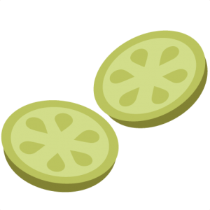 Cucumber Slices SVG file for scrapbooking cardmaking cucumber svg files free svgs