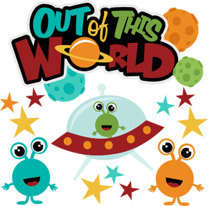 Out Of This World SVG scrapbook collection svg files for scrapbooking alien svgs alien svg files