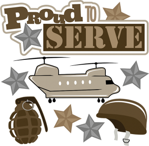 Proud to Serve SVG scrapbook military svg files grenade svg file helicopter svg file helmet svg file