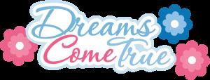 Dreams Come True SVG scrapbook title princess svg file princess svg cut free svgs
