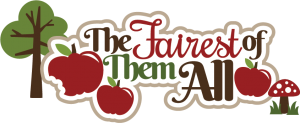 The Fairest Of Them All SVG scrapbook title princess svg files cute svg cuts free svgs
