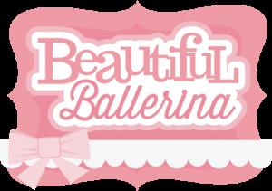 Beautiful Ballerina SVG scrapbook title ballerina svg file ballerina svg cut file free svgs