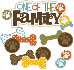 One Of The Family Dog SVG file for scrapbooking dog cut files for scrapbookis dog svg cuts free svgs