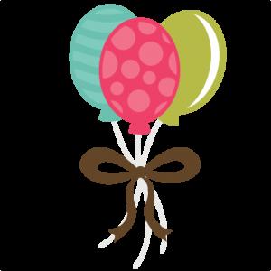 Birthday Balloons SVG files birthday svg files birthday svg cuts cute svgs free svg files for scrapbooking