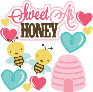 Sweet As Honey SVG file for scrapbooking cardmaking valentines svg files free svgs cute svg cuts