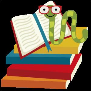 Bookworm SVG file for scrapbooking cardmaking school svg file books svg file svg cuts free svgs