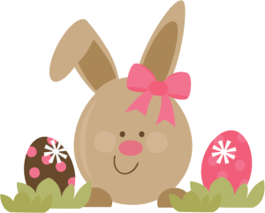 Cute Easter Bunny SVG file for scrapbooking cards free svgs free scut files free scal files