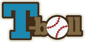 T-Ball SVG scrapbook title baseball svg files sports svg files free svgs cute svg cuts
