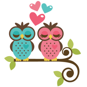 Owls In Love SVG file for scrapbooking and cardmaking owls svg file valentines svgs free svgs