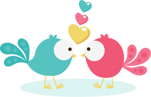 Birds In Love SVG Scrapbook Collection valentines day svg files for scrapbooking cardmaking