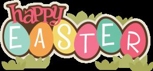 Happy Easter SVG scrapbook title easter svg file easter svg cuts free svgs for cards scrapbooks