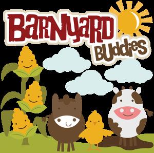 Barnyard Buddies SVG files for scrapbooking cow svg file horse svg file chick svg file free svgs