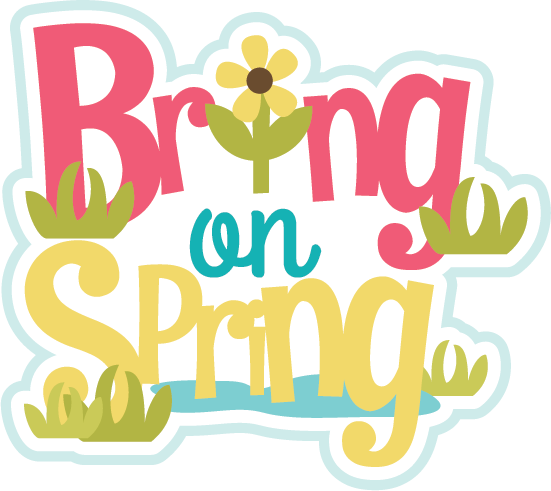 Flowers cut file for scrapbooking flower free flower svg file free cut - Bring On Spring Svg Scrapbook Title Spring Svg Files
