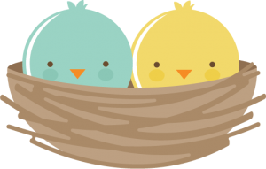 Birds In Nest SVG files for scrapbooking cardmaking svg files for cutting machines cute svg cuts free svgs