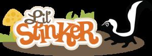 Lil' Stinker SVG file for scrapbooking card making skunk svg file cute skunk svg free svgs