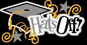 Hats Off SVG scrapbook title graduation svg files graduate svg files for cards free svgs free svg cuts