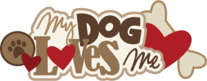 My Dog Loves Me SVG scrapbook title dog svg files svg files for cutting machines free svgs free svg cuts